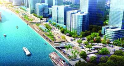 上海北外滩新规划拟征求市民意见和建议 高清图片